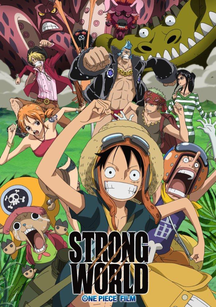 Le film strong world , je l'ai vu et franchement il est bien surtout quand ils arrivent tous en