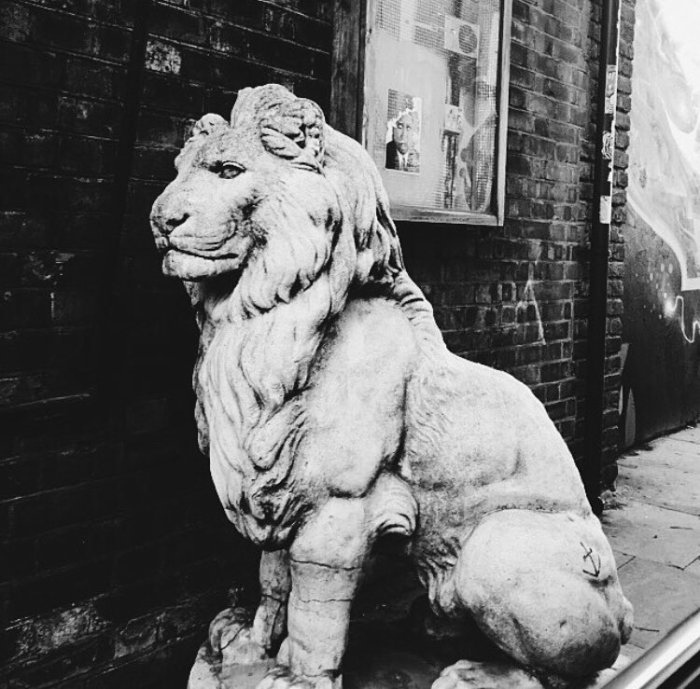 london lion.