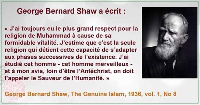 Merci George Bernard