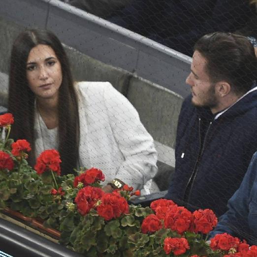 Saul y Yaiza cette semaine à un match de tennis ♥♥