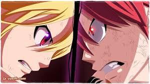 Lucy vs Natsu