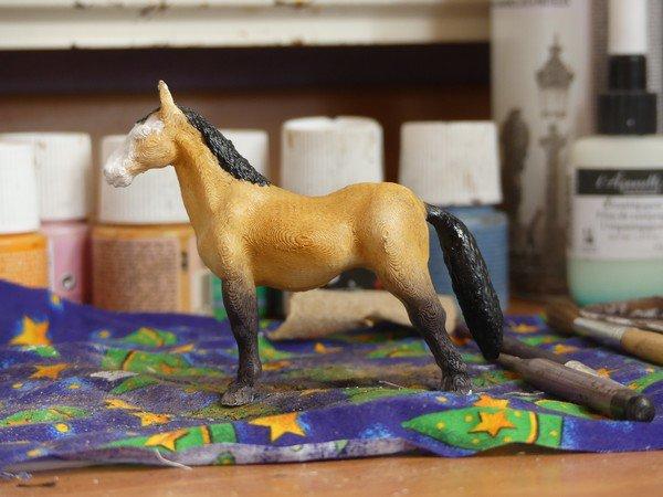CRASH TEST : Peindre un cheval 3D ?