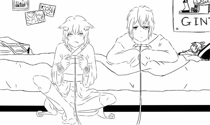 Leïra et Eiji