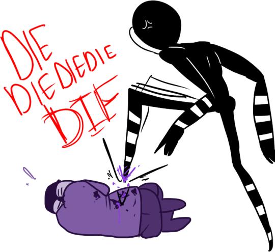 Mort de purple guy