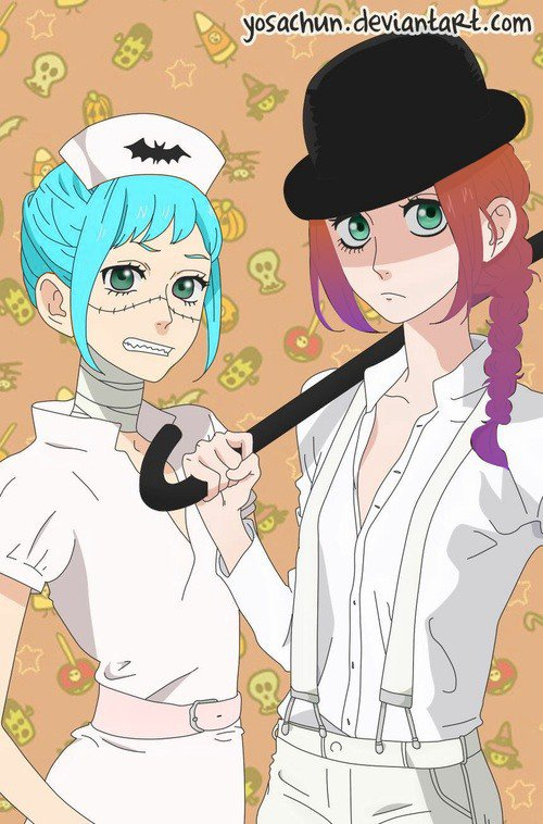 Lilianna et Yume