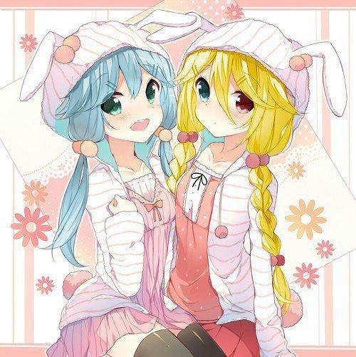 Lilianna et Alyssa