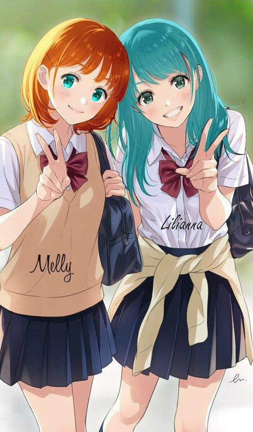 Melly et Lilianna