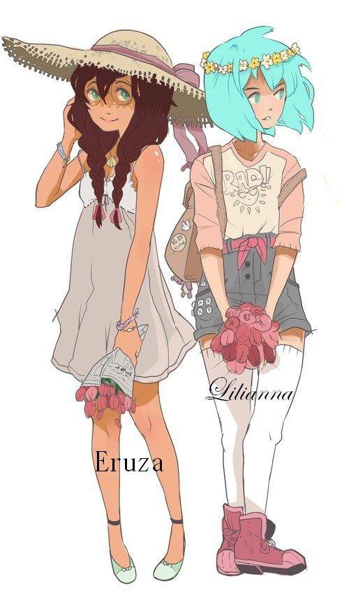 Eruza et Lilianna