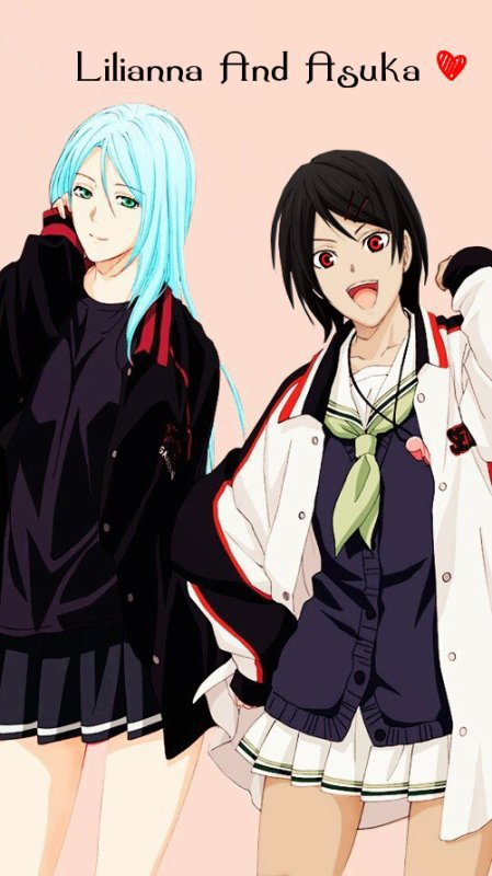 Lilianna et Asuka