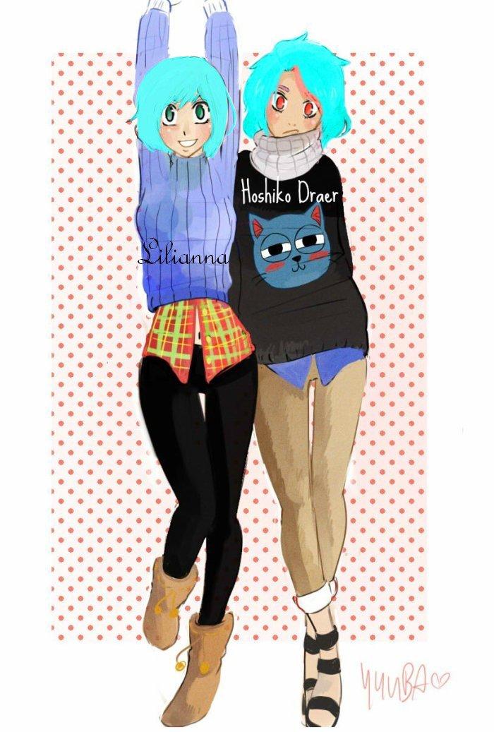 Lilianna et Hoshiko