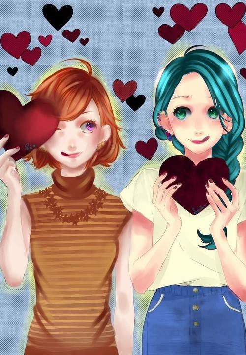 Arya et Lilianna