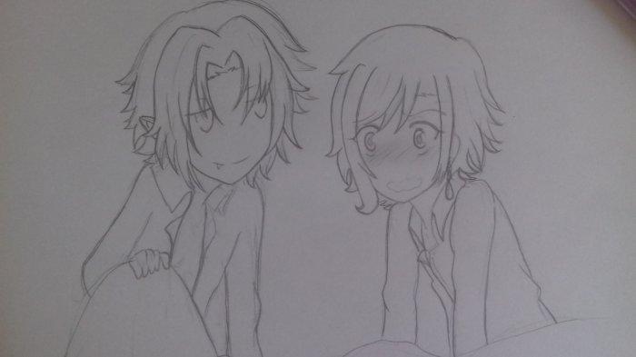 Petit dessin Crowley x Atsuko
