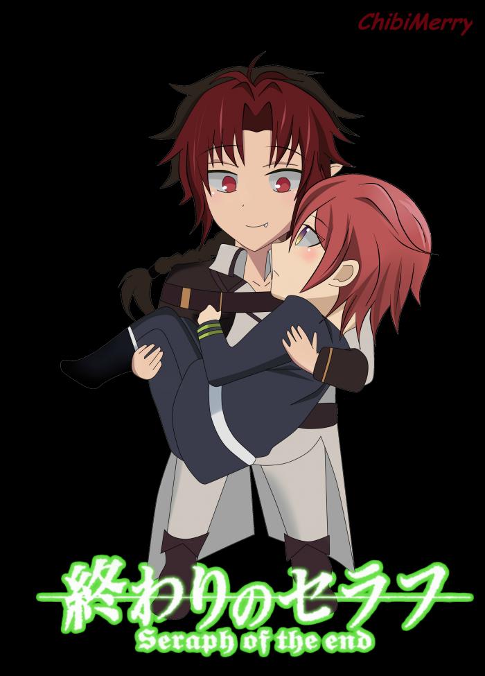 Crowley x Atsuko chibi !