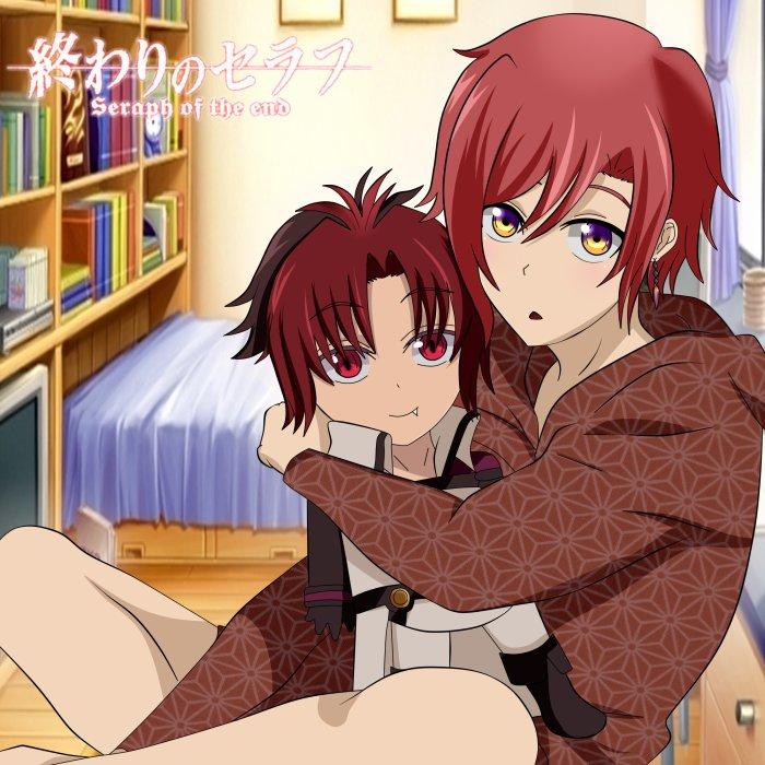 Atsuko avec une peluche Crowley ^^