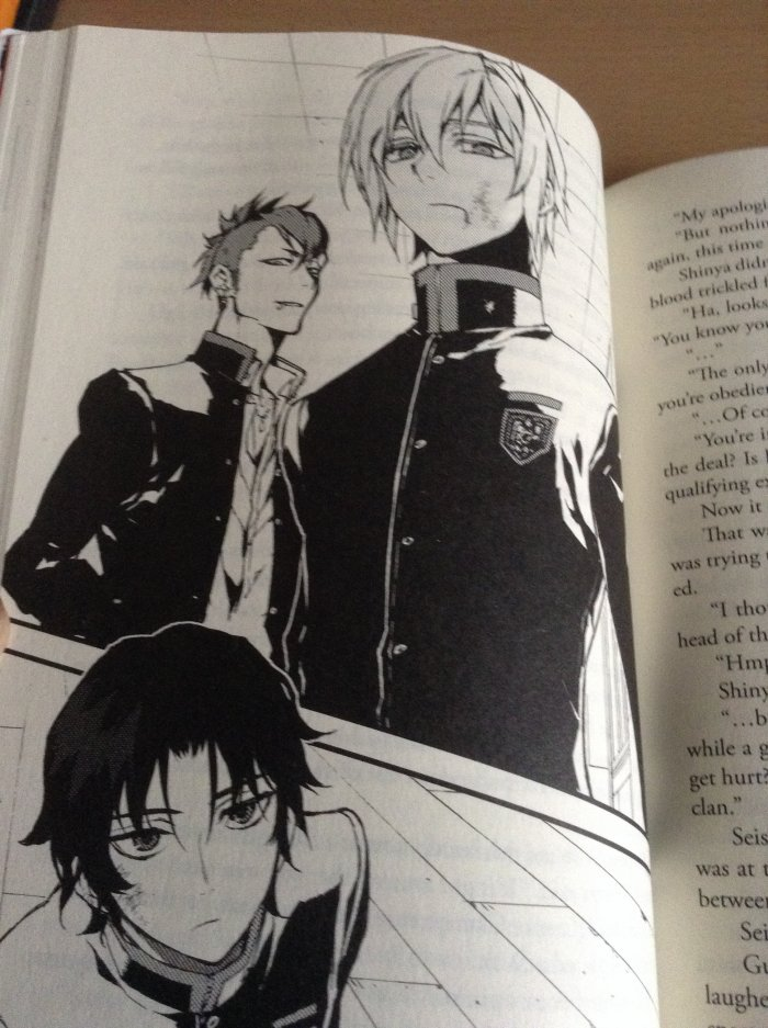 Seishiro, Shinya et Guren