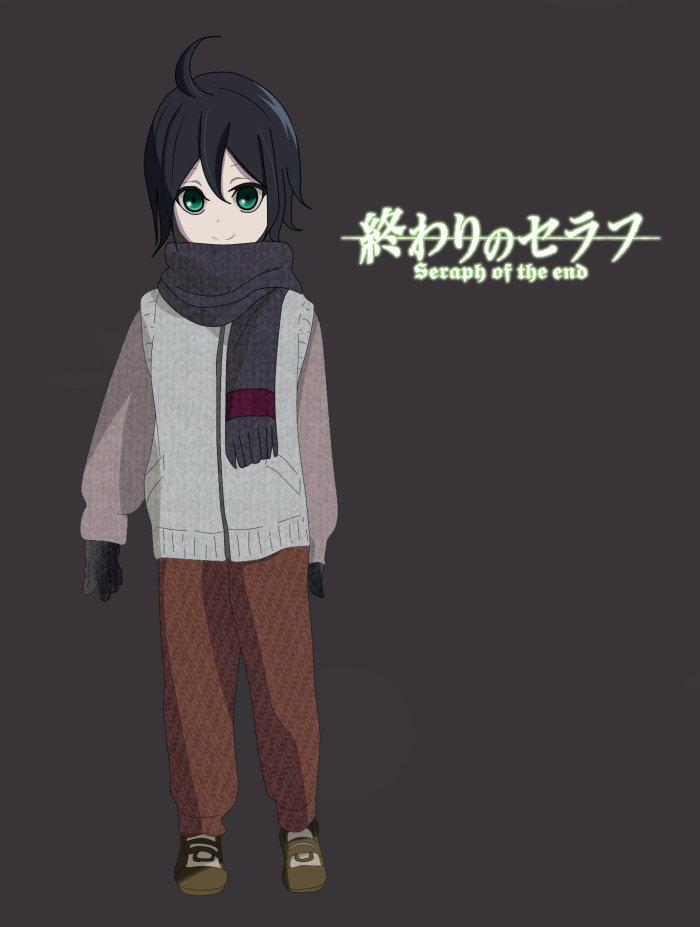 Mayu Hyakuya~ fils adoptif de Mika et Yuu