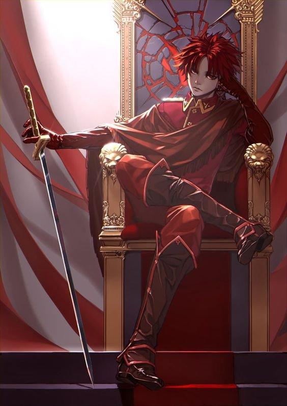 Kaita sur son trone