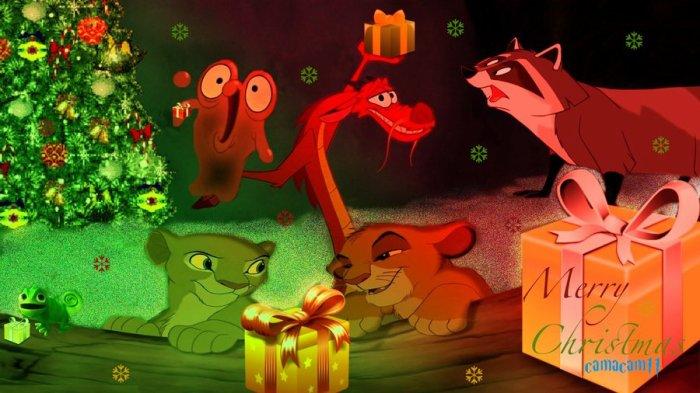 Les animaux de Disney.