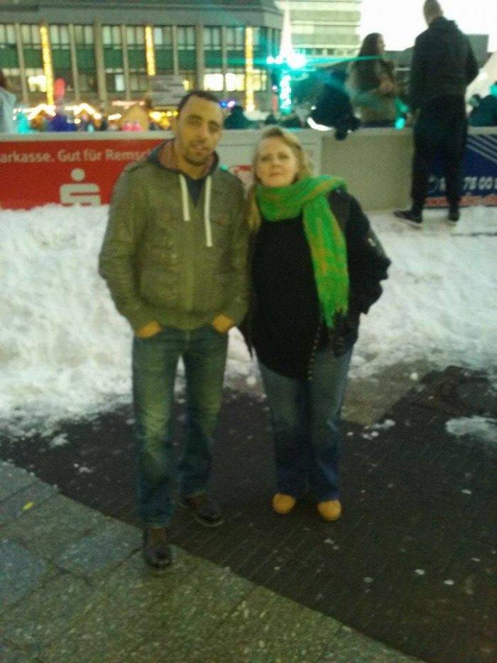 Moi et mon mari en décembre 2016 en Allemagne