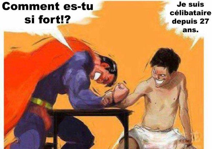 Superman vs Célibat