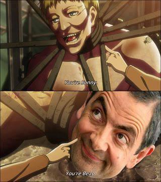 You're Bean, Mister Bean !