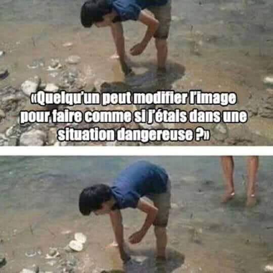 Situation dangereuse