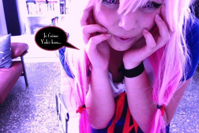 cosplay : Yuno Mirai Nikki