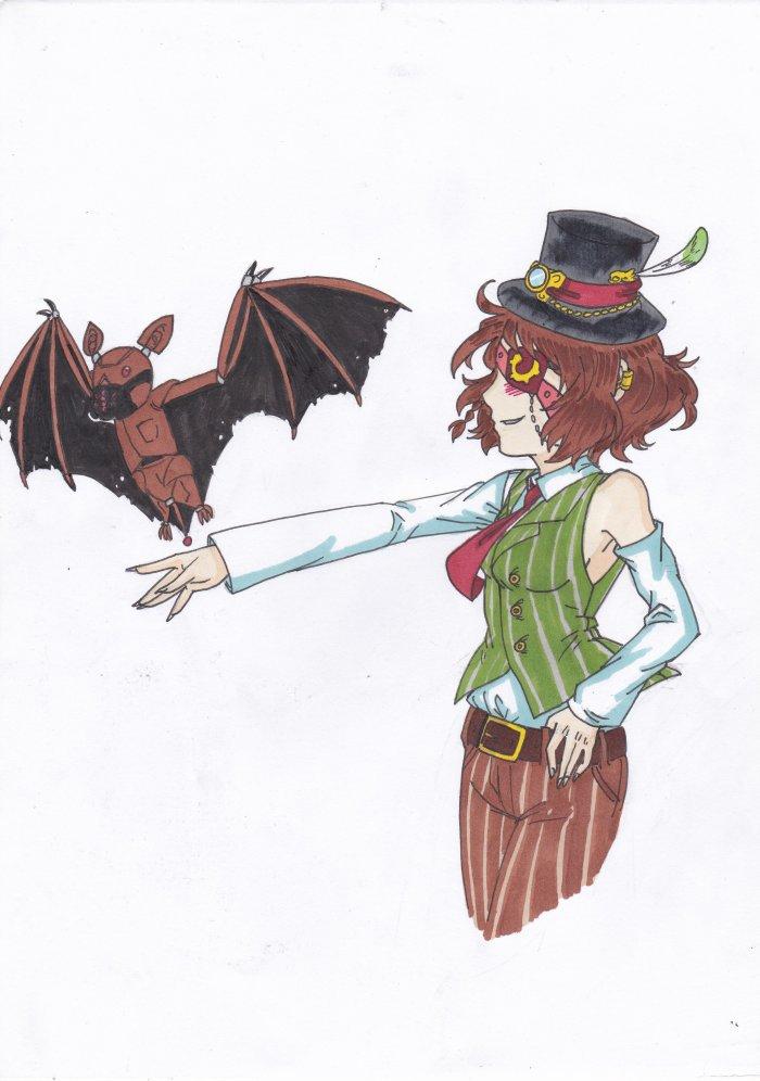 Je vais sauver Gotham City ! pour Drawing-of-Yumiko