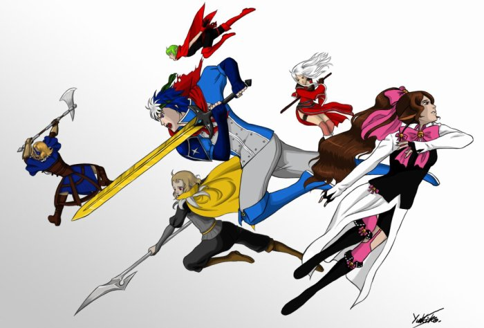 Seï, le baladin qui utilise des lances ^^ par Yukiko-chan ♥