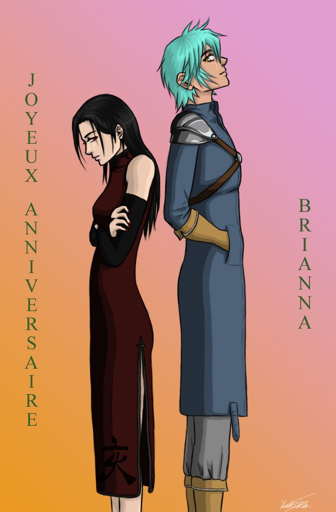 Sakuya et Fitz (OC Fairy Tail) par Yukiko-chan (Fitzounet) ♥