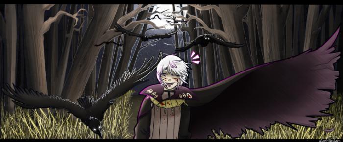 Henry, mon sociopathe préféré, dessiné par Leah-senseï ♥