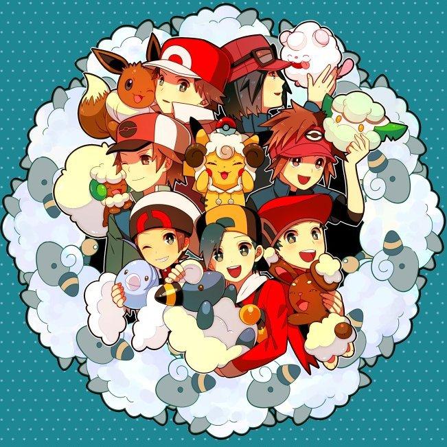 Il y a tellement de Pokémon cotonneux ! *^*