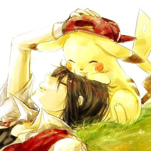 Red et Pikachu ♥