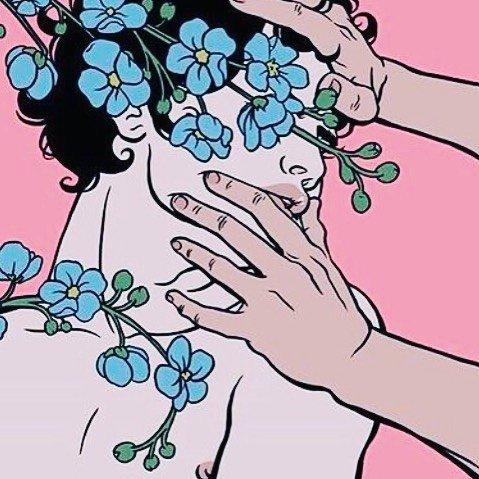 fleurs et sensualité