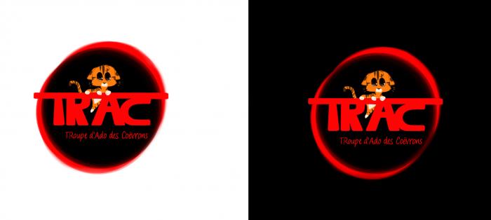Logo pour notre troupe de théâtre impro