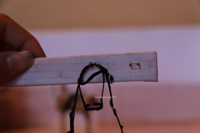 Le porte filets de la sellerie qui avance :)