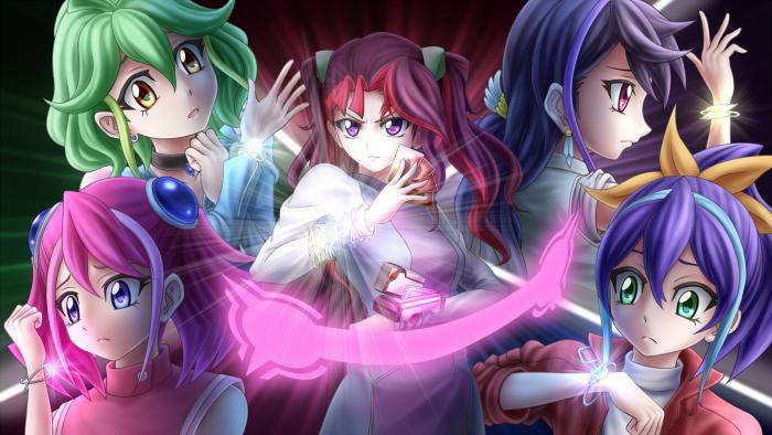 Mikan, ???, Hikari et Kirara ainsi que Hana