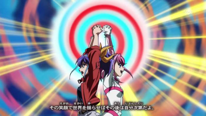 Takahashi Kirara et Taiyou Hikari : Invocation Fusion !