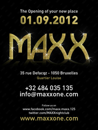 MAXX :: the opening of your new place :: 01.09.2012 | CHRONYX.be : we love urban music !