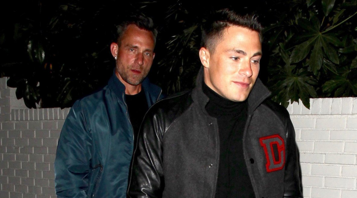 @coltonlhaynes Colton Haynes Steps Out for Date Night with @jeffleatham Jeff Leatham!
