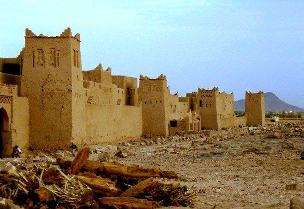 la route des mille kasbah (Atlas marocain)