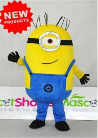 Minions Mascot Costume despicable me Character Deluxe despicable me minion mascot costumes for adults