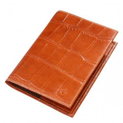 Fitted Mulberry 5 Slots Printed Leathers Passport Cover Oak Save 60%