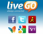 LiveGO - Messenger, Facebook, Twitter and Email