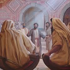 Sainte Mechtilde…Un soir de Pâques, Jésus exprime sa Joie de: *La Résurrection*
