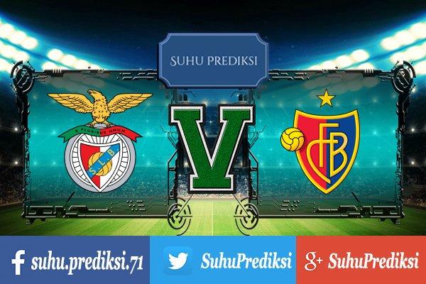 Prediksi Bola Benfica Vs Basel 6 Desember 2017