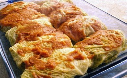 Delicious Foods: Recipe For Lazy Cabbage Rolls Without a Drop of Fat.