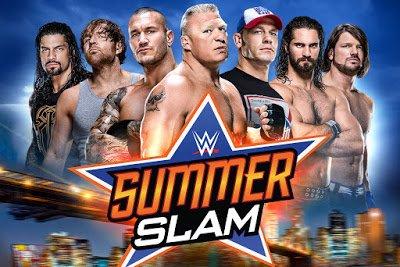 Watch WWE SummerSlam 2017 full show Live at 7 PM (HE) ~ Les Choix de Benoit