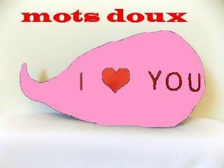MOTS DOUX