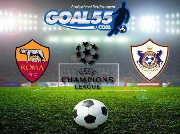 Prediksi Skor Roma VS Qarabag 6 Desember 2017
